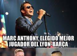 Enlace a Marc y Anthony fueron los mejores del Lyon-Barça