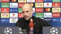 Enlace a La respuesta de Guardiola cuando le dicen que ganó la Champions solo gracias a Messi, Xavi e Iniesta