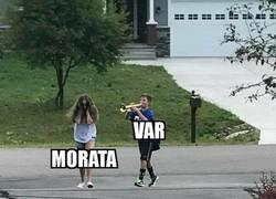 Enlace a Morata y el VAR...
