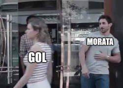 Enlace a A Morata no le dan un respiro