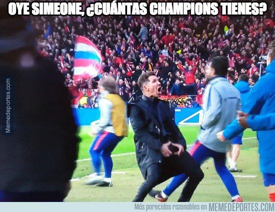1065163 - No sólo Cristiano presumió de cuántas Champions tiene, el Cholo también: