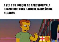 Enlace a Al Barça le sigue costando...