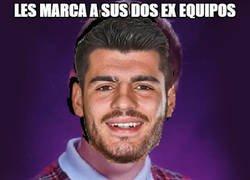 Enlace a Bad luck Morata