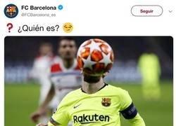 Enlace a La absurda pregunta del Barça en Twitter se llena de respuestas trolls