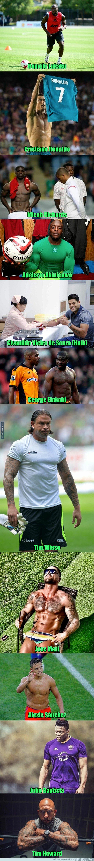 1065327 - Los futbolistas más mazados de la historia del fútbol