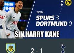 Enlace a Volvió Harry Kane, pero parece que estaban mejor sin él