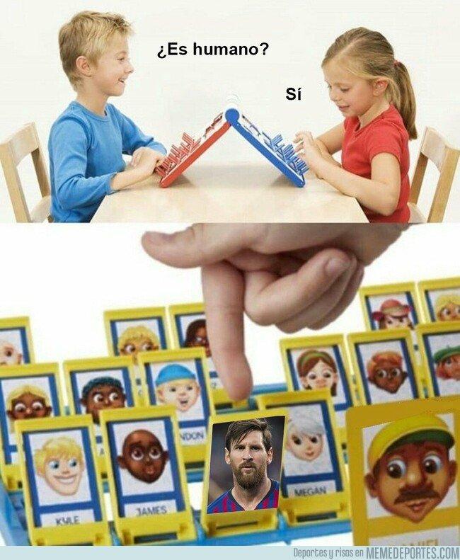 1065414 - Lo de  Messi no es normal