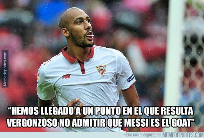 1065437 - El ex del Sevilla hablando de Messi
