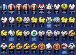 Enlace a Los 50 HAT-TRICK de Leo Messi resumidos en una imagen con cada balón