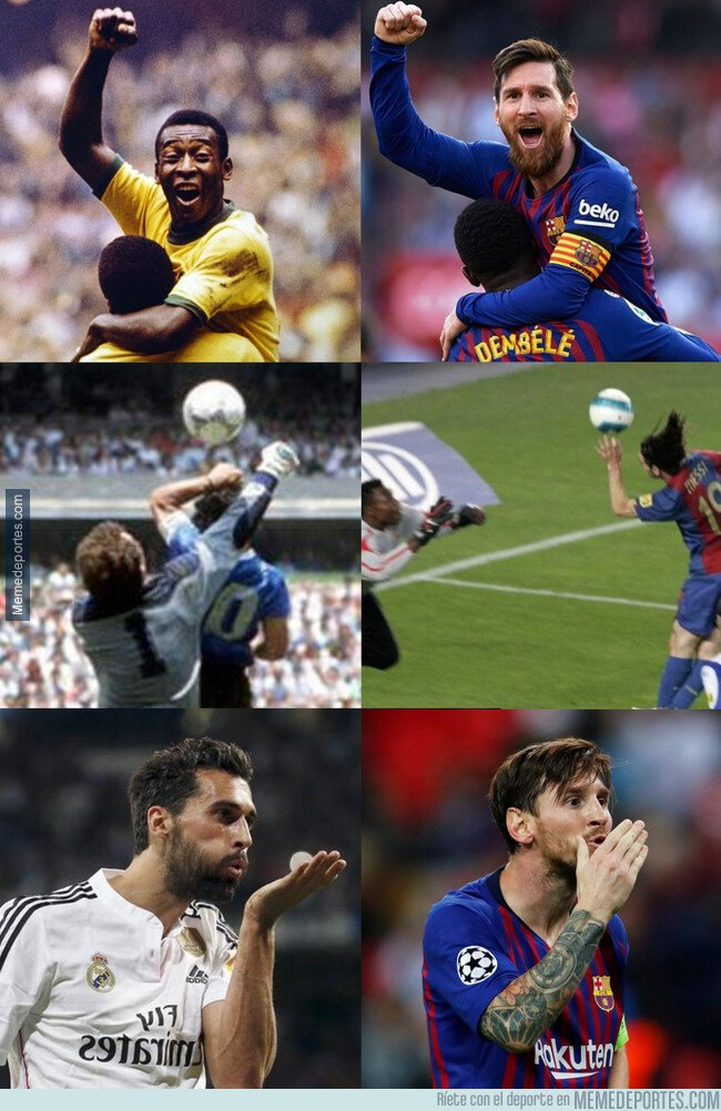 1065469 - Messi pareciéndose a los mejores de la historia