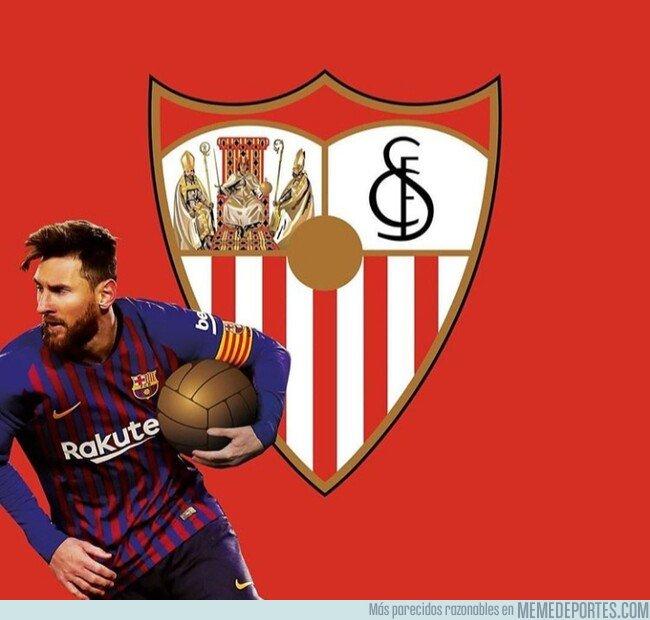 1065471 - Messi se llevó el balón de Sevilla, por @emiliosansolini
