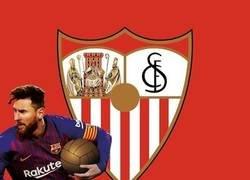 Enlace a Messi se llevó el balón de Sevilla, por @emiliosansolini