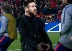 Enlace a Messi se la 'sacó', por @Torren__