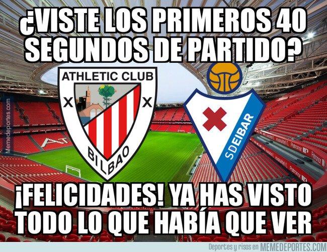 1065481 - El Athletic vence por la mínima al Eibar con un gol a los 40 segundos