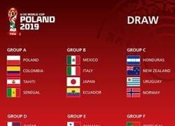 Enlace a Los grupos para el mundial sub-20 de la FIFA. Aquí están las estrellas del futbol dentro de 8 años