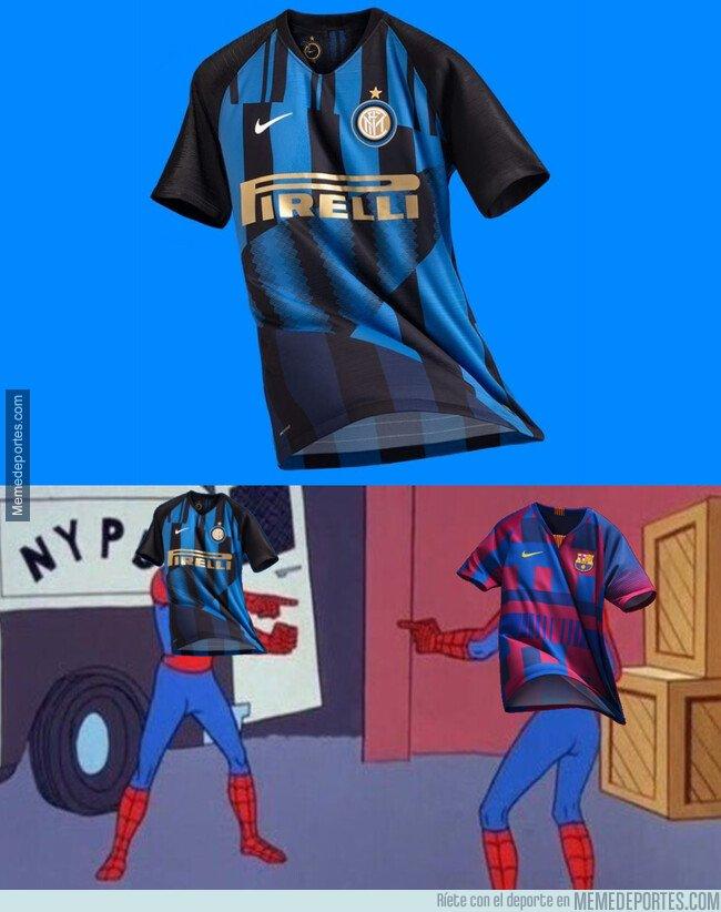 1065822 - Nike copió la idea que tuvo con el Barça para el Inter