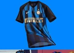 Enlace a Nike copió la idea que tuvo con el Barça para el Inter