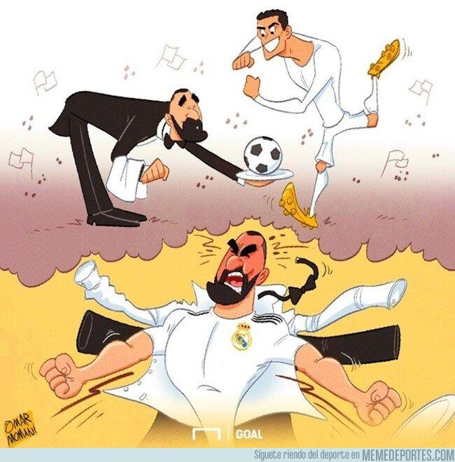 1065832 - Benzema al fin puede ser el delantero que siempre quiso, por @goalglobal