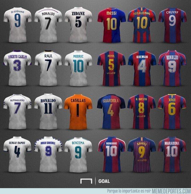 1065833 - ¿Qué camiseta es la más icónica de los Clásicos? Por @emiliosansolini