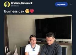 Enlace a Mientras tanto en la tablet de Cristiano, por @Llourinho