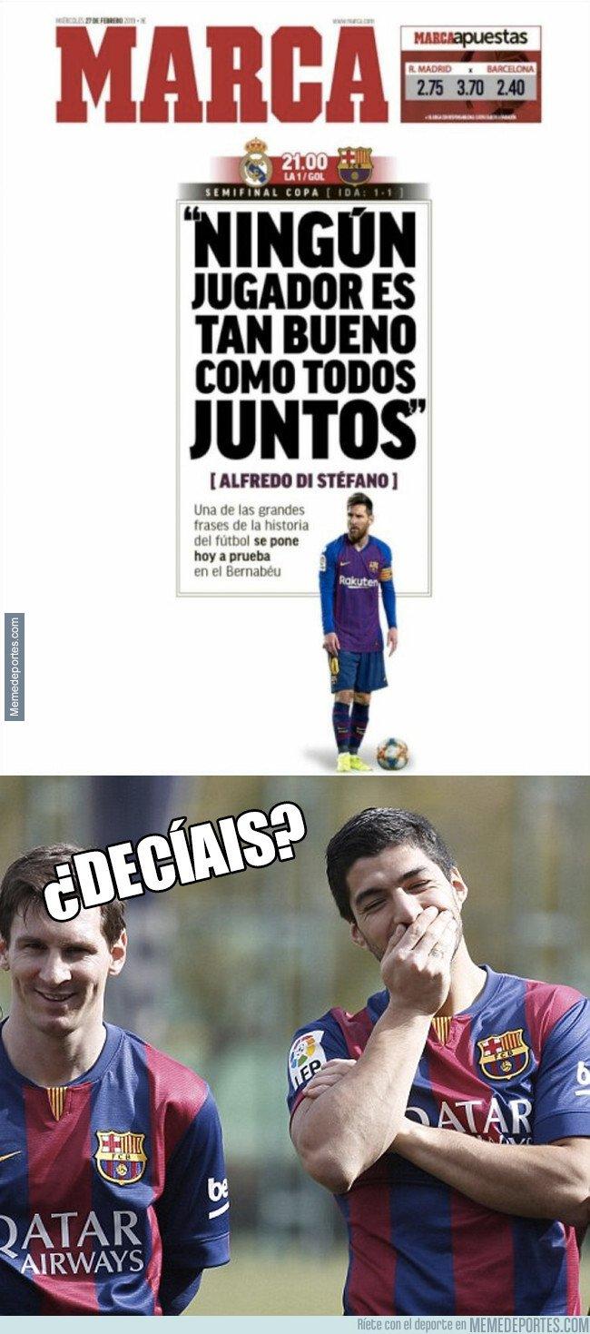 1065881 - Suárez acaba de destrozar la portada de Marca