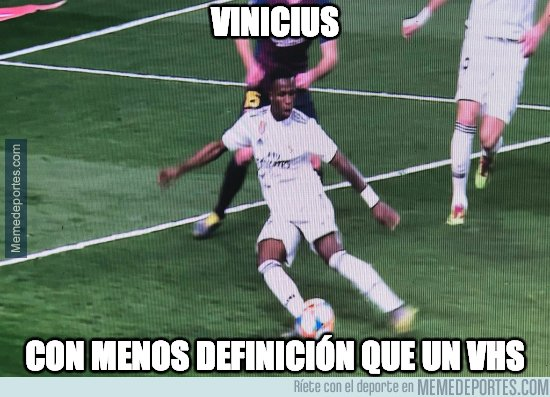 1065908 - No sabe meterla Vinicius