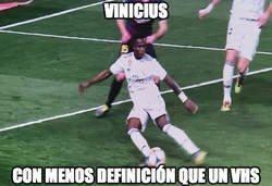 Enlace a No sabe meterla Vinicius