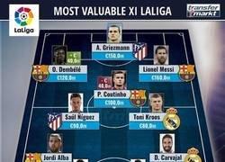 Enlace a El XI más caro de la Liga