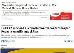Enlace a El Madrid (y Ramos) tropiezan en la misma piedra