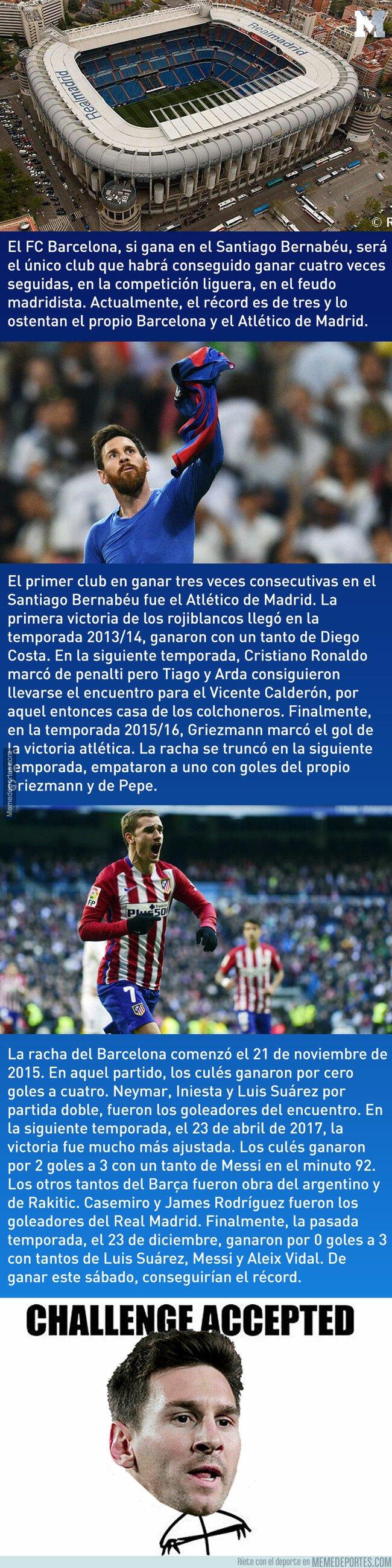1066240 - El récord que podría conseguir el FC Barcelona si gana en el Santiago Bernabéu