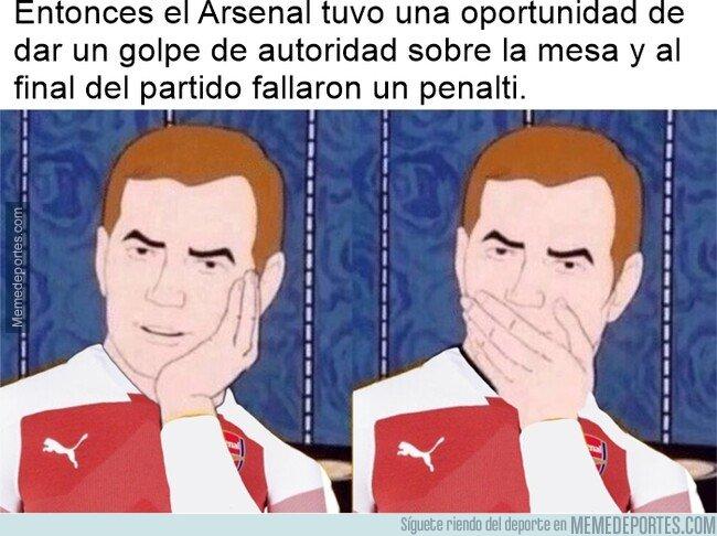 1066318 - Ser fan del Arsenal es un parto