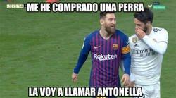 Enlace a Nuevo guiño de Isco a Messi