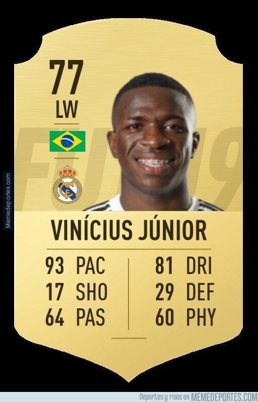 1066412 - EA Sports actualiza las estadísticas de Vinicius