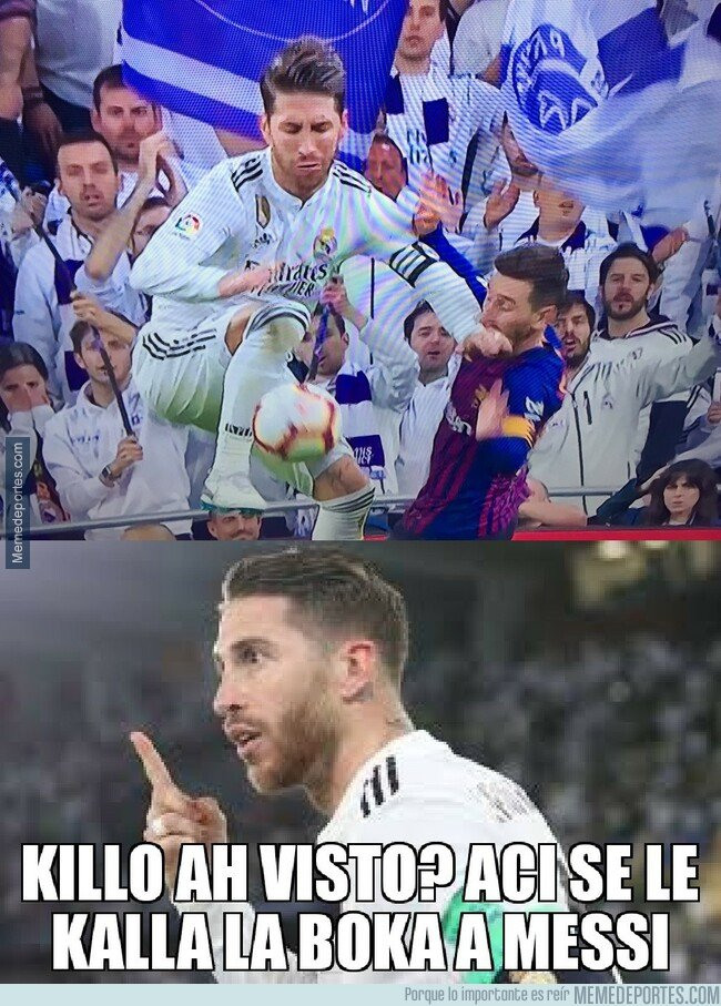 1066420 - Ramos: Messi no asusta.