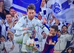 Enlace a Ramos: Messi no asusta.