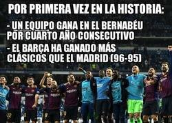 Enlace a Victoria histórica del Barça en el Bernabéu