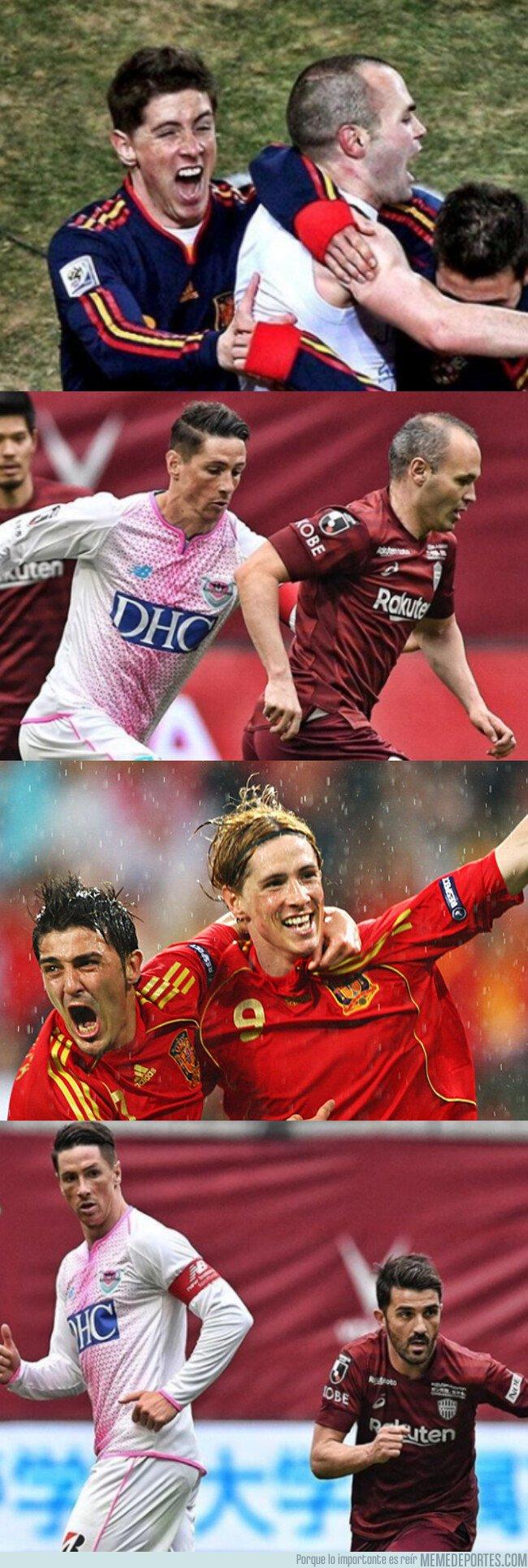 1066455 - Se han reunido 3 leyendas de nuestro fútbol