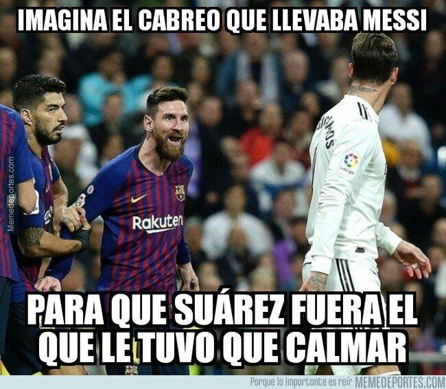 1066458 - ¡Menudo cabreo de Messi!