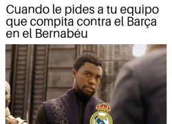 Enlace a Eso en el Bernabéu no es factible