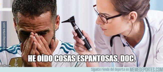 1066477 - Carvajal tras la agresión de Ramos a Messi...