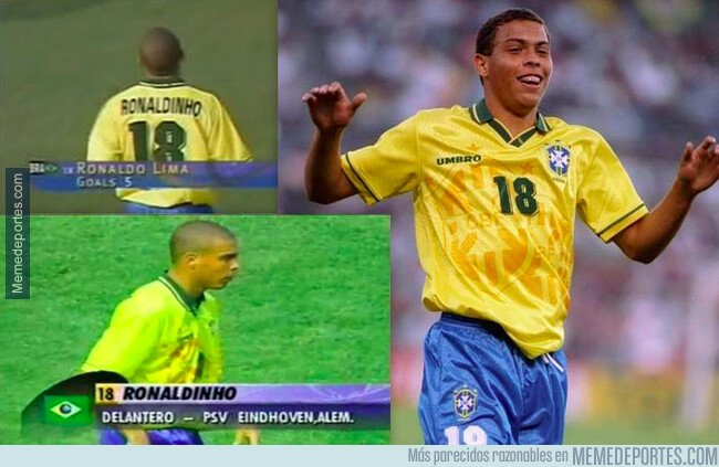 1066563 - Hubo un tiempo... en que Ronaldo era Ronaldinho