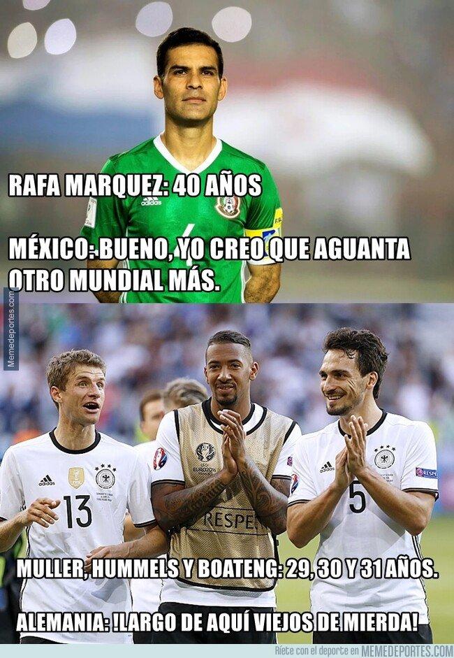1066651 - Las diferencias entre Alemania y México con sus jugadores veteranos