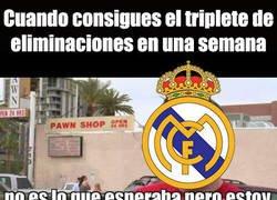 Enlace a El Madrid consigue un triplete historico