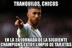 Enlace a Ramos lo tiene todo controlado