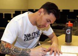 Enlace a La lista de Messi para el camino al balón de oro