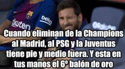 Enlace a Messi ya se relame