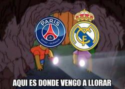 Enlace a El Madrid le enseña al PSG su lugar secreto