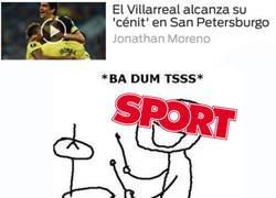 Enlace a Sport alcanza el 'cénit' del humor