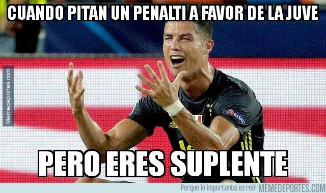 1067403 - Cristiano se perdió un penalti por entrar en las rotaciones