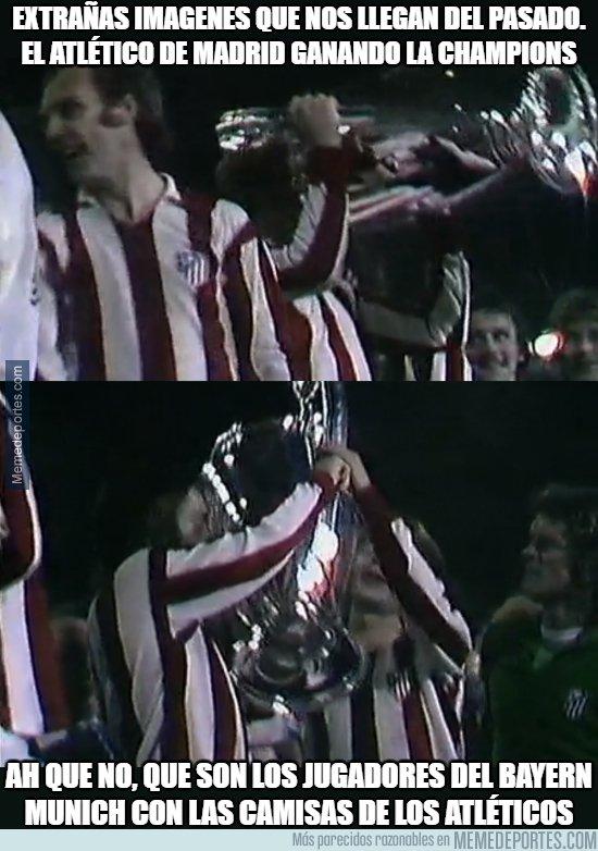 1067486 - ¿El Atlético de Madrid ganando la champions?